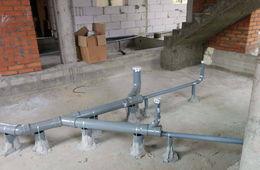 Монтаж канализации в коттедже под ключ Балашиха