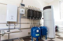 Монтаж системы отопления в коттедже Балашиха