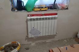 Монтаж радиатора отопления в частном доме Балашиха