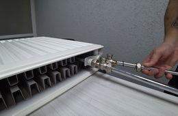 Монтаж радиаторов отопления с нижней подводкой Балашиха