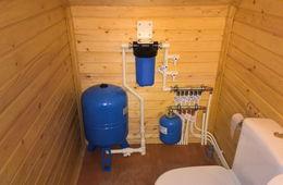 Монтаж водоснабжения в частном доме Балашиха