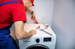 Подключение стиральной машины к коммуникациям Балашиха